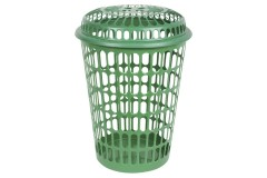 Καλάθι απλύτων πλαστικό Φ44Χ60 εκ. διάτρητο