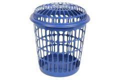 Καλάθι απλύτων Φ39 εκ. διάτρητο χρ. μπλε