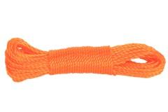 Σχοινί απλώματος ρούχων 20 μέτρα χρ. πορτοκαλί