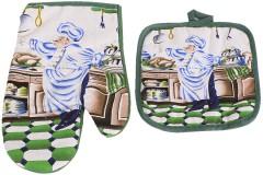 Γάντι και πιάστρα κουζίνας