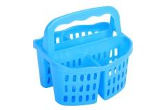 Κουταλοθήκη πλαστική με 4 θέσεις χρ. μπλε