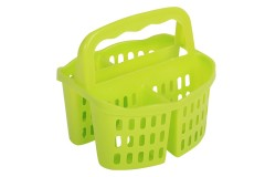 Κουταλοθήκη πλαστική με 4 θέσεις χρ. πράσινο
