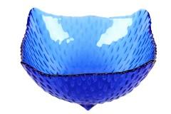 Μπωλ παγωτού - γλυκού τεμ. 1 γυάλινο χρ. μπλε