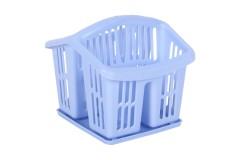 Κουταλοθήκη πλαστική με δίσκο χρ. μπλε