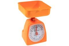 Ζυγαριά κουζίνας 5 κιλών με κάδο χρ. πορτοκαλί
