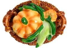 Μαγνητάκι ψυγείου σχ. καλάθι με λαχανικά