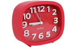 Ρολόι ξυπνητήρι 12Χ4Χ10 εκ. χρ. κόκκινο