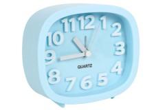 Ρολόι ξυπνητήρι 12Χ4Χ10 εκ. χρ. σιέλ