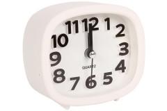 Ρολόι ξυπνητήρι 12Χ4Χ10 εκ. χρ. λευκό