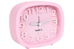 Ρολόι ξυπνητήρι 12Χ4Χ10 εκ. χρ. ροζ