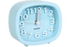 Ρολόι ξυπνητήρι 9,5Χ4Χ8,5 εκ. χρ. σιέλ
