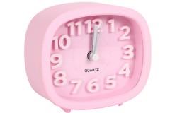 Ρολόι ξυπνητήρι 9,5Χ4Χ8,5 εκ. χρ. ροζ