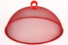 Καπάκι πιατέλας συρμάτινο Φ35 εκ. χρ. κόκκινο