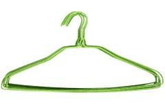Κρεμάστρες ρούχων μεταλλικές τεμ. 10 με επένδυση PVC