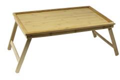 Δίσκος κρεβατιού ξύλινος 50Χ30Χ22 εκ.