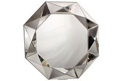 Καθρέφτης τοίχου μοντέρνος πολύγωνος Φ80 εκ.