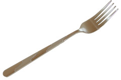 Πιρούνι φαγητού τεμ. 1 γυαλιστερό και ματ