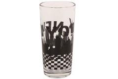 Ποτήρι νερού τεμ. 1 γυάλινο 250 ml σχ. NEW YORK