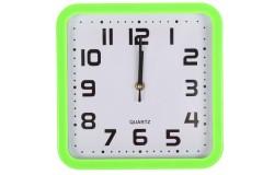 Ρολόι τοίχου 23Χ23 εκ. χρ. πράσινο