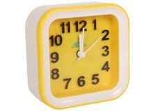 Ρολόι ξυπνητήρι 10Χ4Χ10 εκ. χρ. κίτρινο
