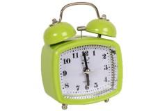 Ρολόι ξυπνητήρι τετράγωνο με φως 8Χ4,5Χ11,5 εκ. χρ. πράσινο