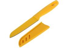 Μαχαίρι 20 εκ. με πλαστική λαβή χρ. κίτρινο