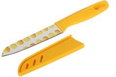 Μαχαίρι 20 εκ. με πλαστική λαβή χρ. κίτρινο με σχέδιο