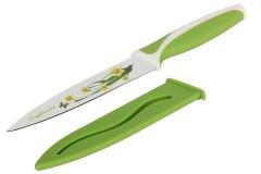 Μαχαίρι 24 εκ. με πλαστική λαβή χρ. πράσινο με σχέδιο