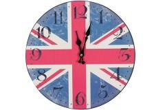Ρολόι τοίχου ξύλινο Φ30 εκ. σχ. LONDON