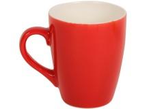 Κούπα κεραμική 360 ml Φ8,5Χ10,5 εκ. χρ. κόκκινο