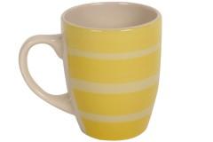Κούπα κεραμική 370 ml Φ8,5Χ10,5 εκ. χρ. κίτρινο