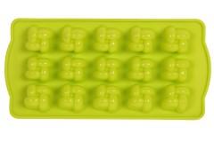 Φόρμα σιλικόνης για σοκολατάκια 21Χ10 εκ. σχ. ΚΑΡΩ χρ. πράσινο