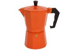Καφετιέρα - μπρίκι Espresso για 6 φλιτζάνια χρ. πορτοκαλί - OEM HLP1-62C