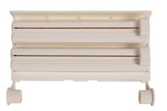 Βάση κουζίνας τοίχου για χαρτί - σελοφάν - αλουμινόχαρτο πλαστική 38Χ25Χ9 εκ.