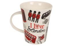 Κούπα πορσελάνης 350 ml Φ9,1Χ10,7 εκ. σχ. LONDON LOVE