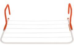Απλώστρα μπαλκονιού - καλοριφέρ 55Χ34 εκ. χρ. πορτοκαλί