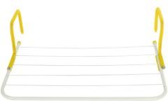 Απλώστρα μπαλκονιού - καλοριφέρ 55Χ34 εκ. χρ. κίτρινο