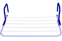 Απλώστρα μπαλκονιού - καλοριφέρ 55Χ34 εκ. χρ. μπλε