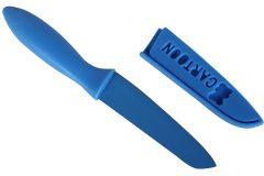 Μαχαίρι 22 εκ. με θήκη και πλαστική λαβή χρ. μπλε