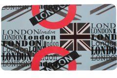 Σουπλά φαγητού 42Χ27,5 εκ. με εκτύπωση σχέδιο LONDON