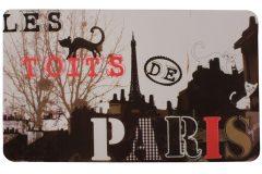Σουπλά φαγητού 42Χ27,5 εκ. με εκτύπωση σχέδιο PARIS CAT