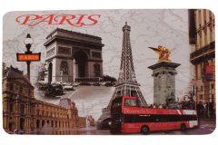 Σουπλά φαγητού 42Χ27,5 εκ. με εκτύπωση σχέδιο PARIS BUS