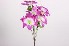 Λουλούδι μπουκέτο 44 εκ. με 9 άνθη χρ. μωβ