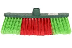 Σκούπα 29 εκ. χρ. πράσινο - κόκκινο