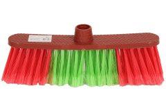 Σκούπα 29 εκ. χρ. κόκκινο - πράσινο