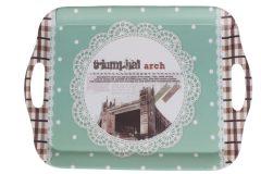 Δίσκος σερβιρίσματος πλαστικός μελαμίνης 36,5Χ26,5 εκ. σχ. TRIUMPH ARCH