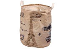 Καλάθι απλύτων - σάκος αποθήκευσης Φ34Χ42 εκ. σχ. PARIS-2
