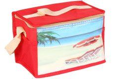 Τσάντα ψυγείο ισοθερμική 25Χ16Χ18 εκ. 7 λίτρα σχ. ΠΑΡΑΛΙΑ - OEM
