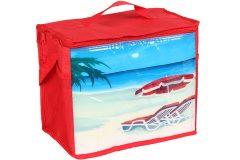 Τσάντα ψυγείο ισοθερμική 32Χ18Χ26 εκ. 13 λίτρα σχ. ΠΑΡΑΛΙΑ - OEM