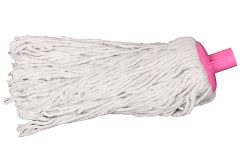 Σφουγγαρίστρα βαμβακερή 250 γραμμάρια χρ. ροζ